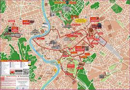 Map Of Rome Italy by Rome Hop On Hop Off Sightseeing Tour In Rome Italy Lonely Planet