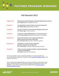 seminars polymer program