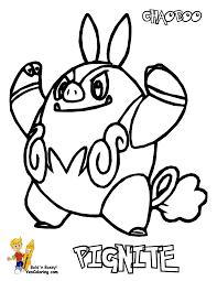 sharp pokemon black white coloring victini swoobat free