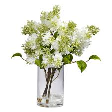 decorating quincy lilac silk flower arrangements for table
