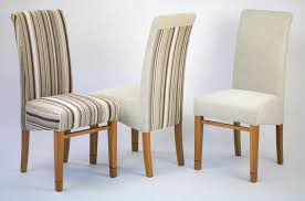 White Upholstered Dining Chair Chairs Interesting Cushioned Dining Chairs Fabric Upholstered