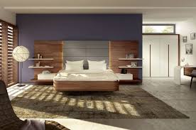 Floating Nightstand Shelf Floating Brown Wooden Bed With Headboard With Nightstand Attached