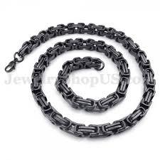 titanium chain link necklace images Titanium chain necklaces cheap titanium chain necklaces jpg