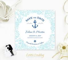 Nautical Save The Date Cheap Tave The Date Cards Lemonwedding