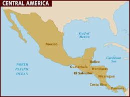 anerica map map of central america