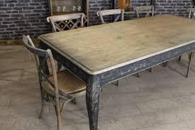 RUSTIC OAK KITCHEN TABLE FRENCH STYLE OAK - Rustic oak kitchen table
