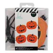 Pumpkin Halloween Lights Marquee Love Light Garland Kit Pumpkin U2013 Heidi Swapp