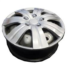 nissan micra hubcaps uk universal 16 inch silver flare set of 4 wheels trims hub caps by