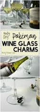 easy diy pokemon wine glass charms nerdy mamma