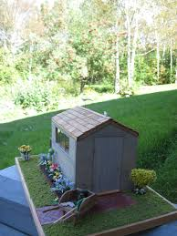 Pretty Shed by Pulchinella U0027s Cellar Miniatures Dollhouse Garden Shed Vignette