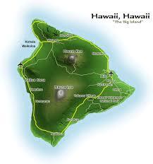 map of hawai the big island hawaii vacation and hawaii vacation