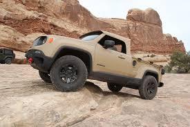 2017 jeep comanche truck review crazy jeep comanche unveiled at moab ejs 2016 day 3 exclusive