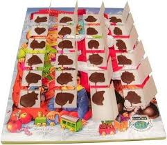 every year i would get an chocolate advent calendar each day you