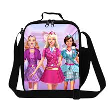 aliexpress buy 2016 fashion barbie lunch bag thermal bag