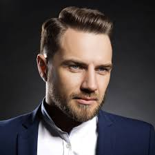 hair stlyes with side parting oval face small forehead side part haircut a classic style for gentlemen