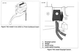 front brake switch issue 1130cc com the 1 harley davidson v