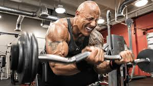 the rock s jumanji workout routine and diet plan