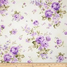 Wisteria Home Decor by Zoey Christine Morning Dew Wisteria Discount Designer Fabric