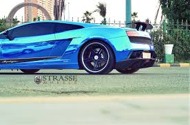 lamborghini gallardo lp540 4 the blue lamborghini gallardo sl lp570 4 strasse wheels