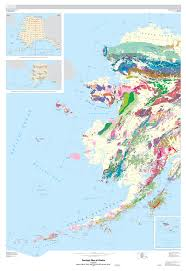 Alaska Map Images by Generalized Usgs Geologic Map Of Western Alaska And Aleutian Islands