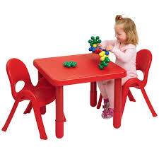 Plastic Tables And Chairs Angeles Myvalue Set 2 Preschool Matching Table And Chairs
