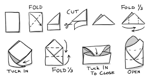 how to make envelopes how to fold a paper envelope for storing seeds