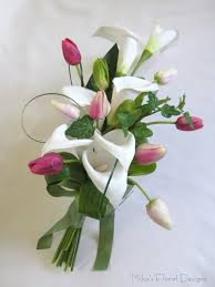 Tulip Bouquets Artificial Wedding Bouquets Quality Silk Flowers