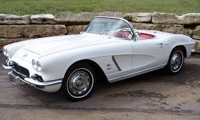 fuel injected corvette ermine white 1962 corvette fuel injected 327 360 aucton results