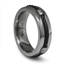 black titanium mens black titanium wedding rings titanium rings as the wedding