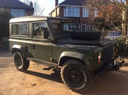 land rover military defender land rover 90 defender ex military 1987 d reg in coventry