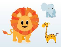 baby cartoon animals clipart clipart kid cartoon jungle