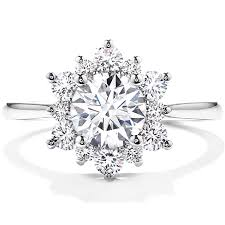diamond jewellery rings images Delight lady di diamond engagement ring png