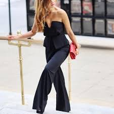gal jumpsuit 49 gal to you peplum jumpsuit from