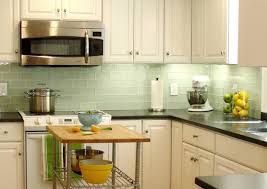 green glass tiles for kitchen backsplashes light green subway tile kitchen backsplash lovely glass tiles