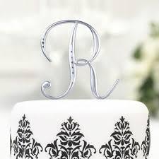 monogram cake toppers monogram cake toppers ebay