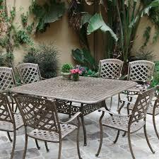 Cast Aluminum Patio Furniture Sets Crosley Furniture Sedona 46 Cast Aluminum Dining Table In Ideas