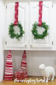 diy mini faux boxwood wreaths the everyday home