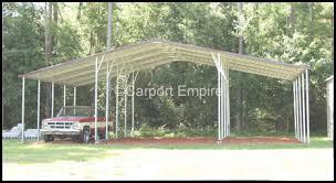 Steel Car Port Triple Car Steel Carport Motorhome Canopy Carport Empire