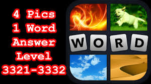 Com 3332 by 4 Pics 1 Word Level 3321 3332 Hit Level 3333 Answer Youtube