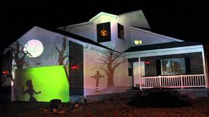 2012 halloween house projection live full hd youtube