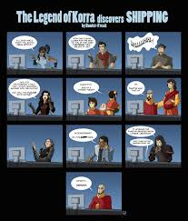 Legend Of Korra Memes - the legend of korra discovers shipping avatar the last airbender