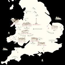 Great Britain World Map by Interesting Hotels Individual Hotels Around Great Britain
