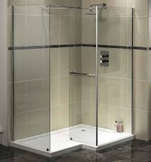 Bathroom Shower Panels by Bathroom Splendid Modern Shower Design Idea With Thick Glass
