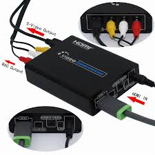 rca dvd home theater system with hdmi 1080p output 1080p hdmi to s video cvbs rca l r audio video converter splitter