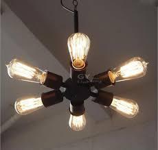 ac100 240v 6pcs e27 bulb lights minimalist retro edison