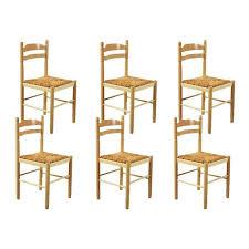 chaise jeanne jeanne lot de 6 chaises bois achat vente chaise marron cdiscount