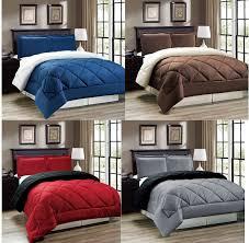 Down Alternative Comforter Twin Twin Down Comforter 2pcs Green Piped Edge Reversible Down