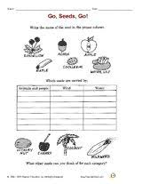 pollinating flowers worksheets u0026 activities greatschools