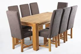 fabric dining chair with massive oak legs tiramisu funique co uk