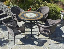 Mosaic Patio Table And Chairs Patio Dining Sets Mosaic Patio Tiles Glass Top Patio Table
